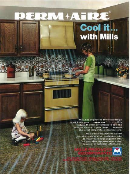 Mills Products Oven Handles Ad