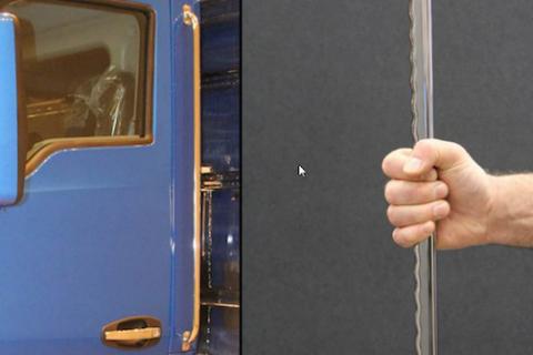 truck cab grab handles