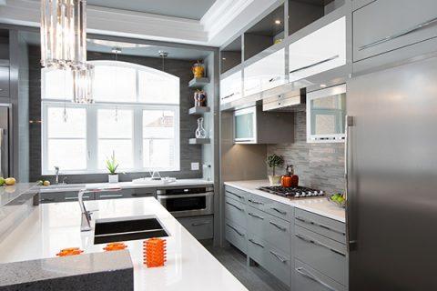 Kitchen appliances and hardware photo
